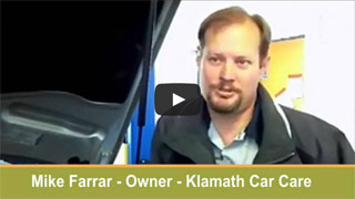 Auto Repair Klamath Falls, OR 97603 - Mike Farrar - Certified Auto Technician - Owner of Klamath Care Care - Auto Repair Garage serving car owners in Klamath Falls, Keno, Chiloquin and Merrill OR